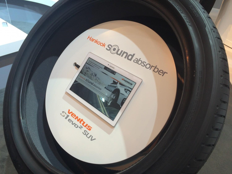 Hankook Tire совершенствует технологию Sound Absorber