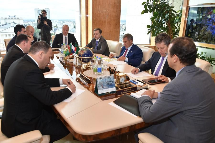 Делегация Туркменистана посетила «Нижнекамский завод шин ЦМК»