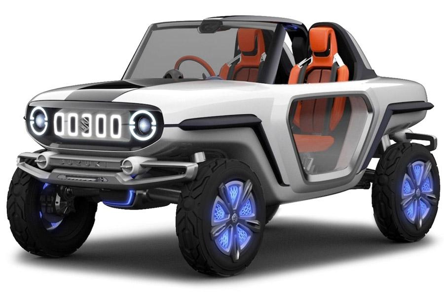 Suzuki построила забавный концепт внедорожника