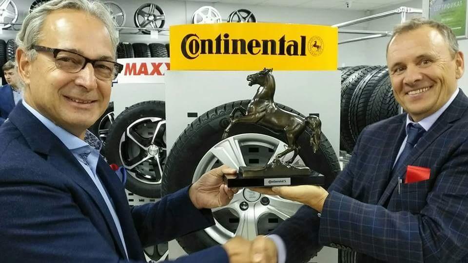 Continental открыл новый шинный центр в Казахстане