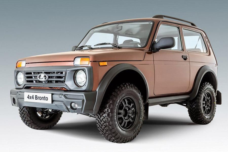 На сайте АвтоВАЗа появилась новая версия Lada 4x4