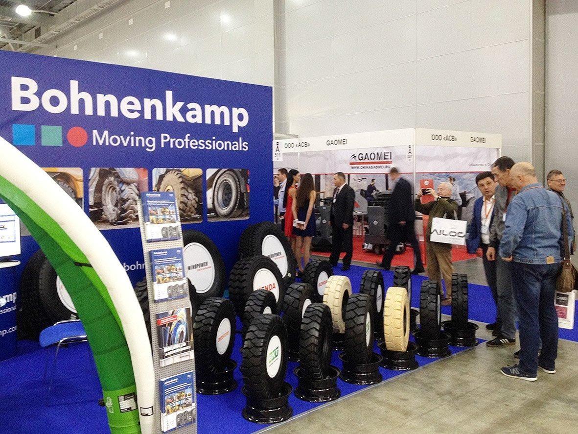 Bohnenkamp AG приняла участие в выставке CeMAT Russia 2017