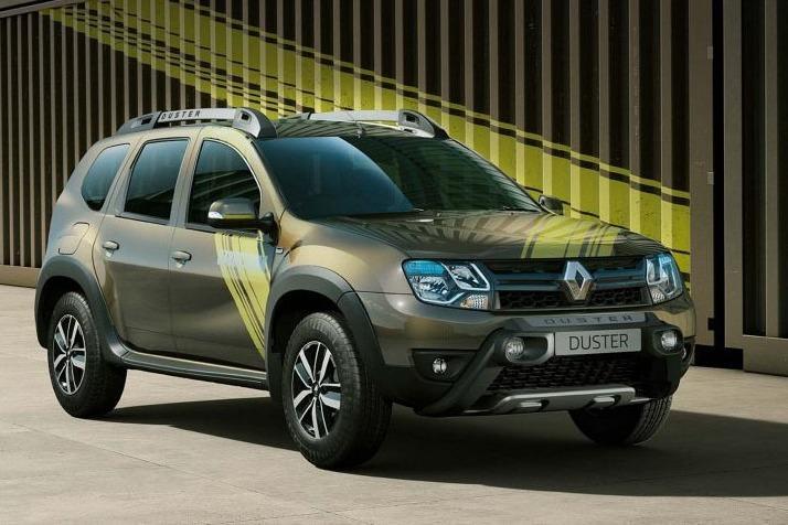 В Индии поступила в продажу спецсерия Renault Duster