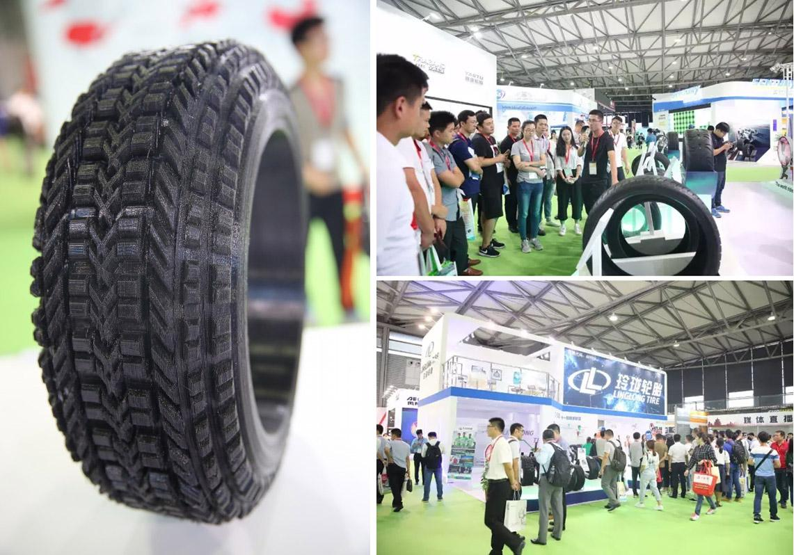 Linglong представила на выставке в Шанхае шины из одуванчиков, графена и полиуретана