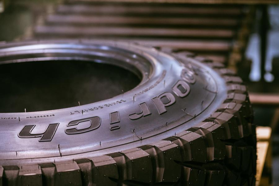 BFGoodrich разработала новую шину для Дакарского марафона