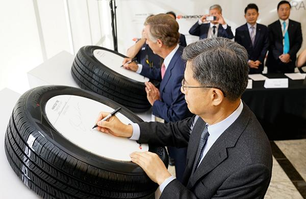 Hankook Tire официально открыла свой завод в Америке