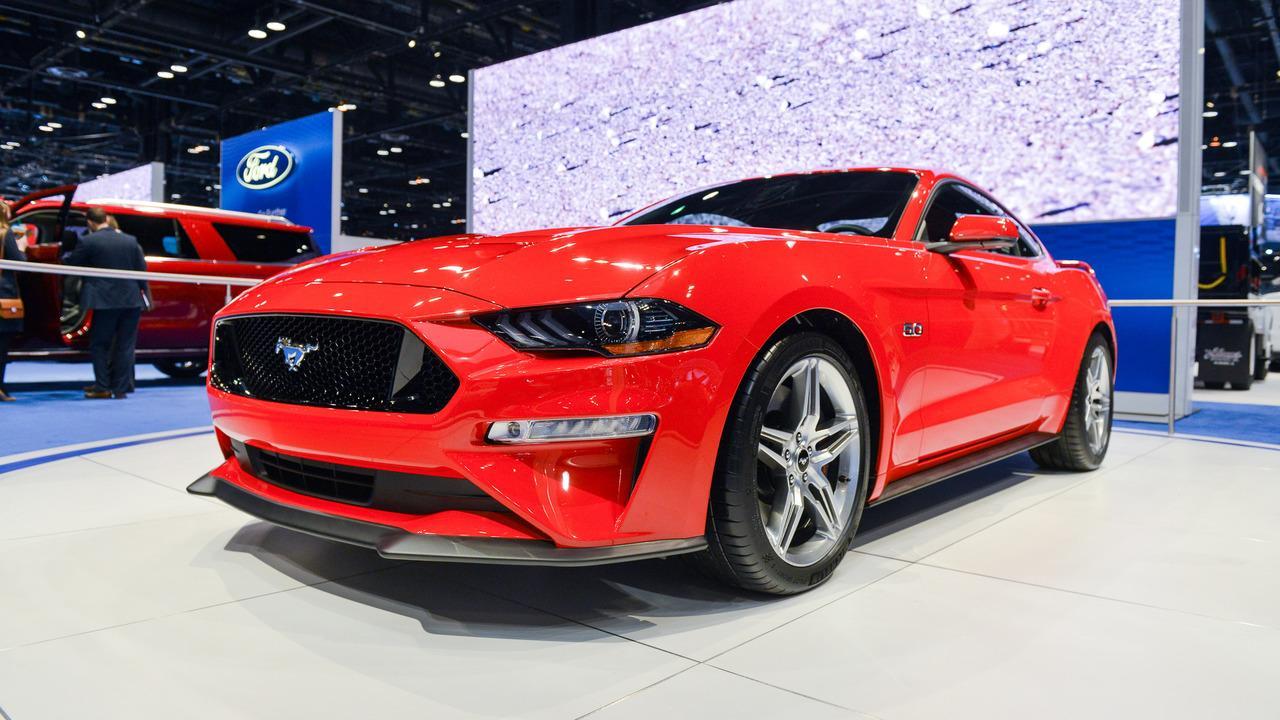 Мишлен подготовил для новых масл-каров Ford Mustang GT спецверсию шин Pilot Sport 4S