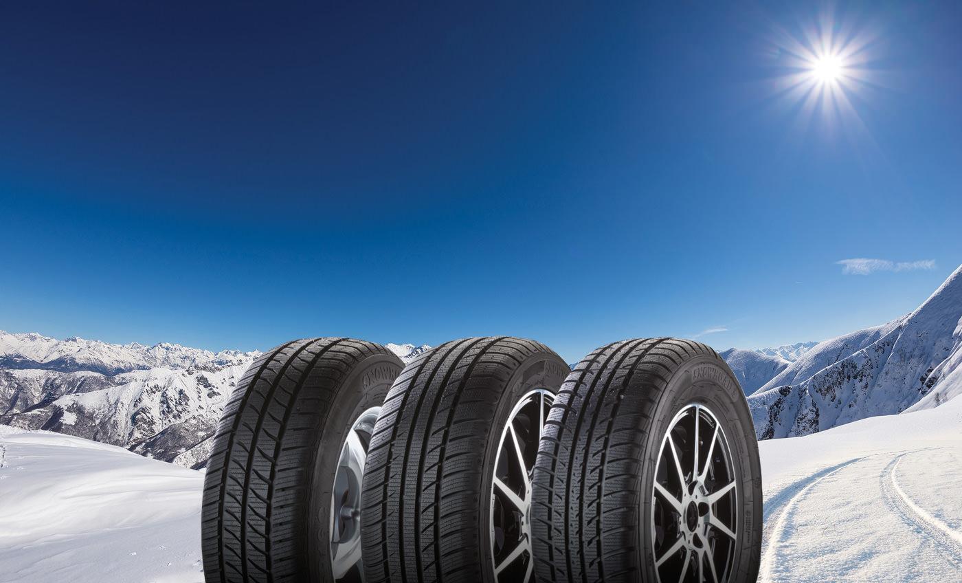 Tomket Tires представила первую зимнюю линейку шин