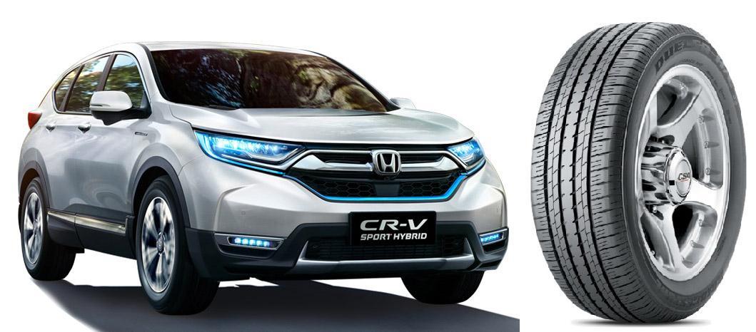 Обновленный Dongfeng Honda CR-V обулся в Bridgestone Dueler H/L 33