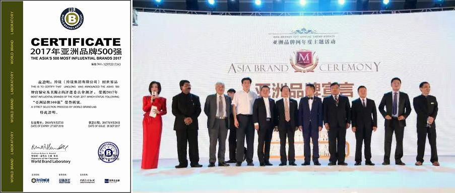 Linglong Tire в списке самых влиятельных брендов Азии