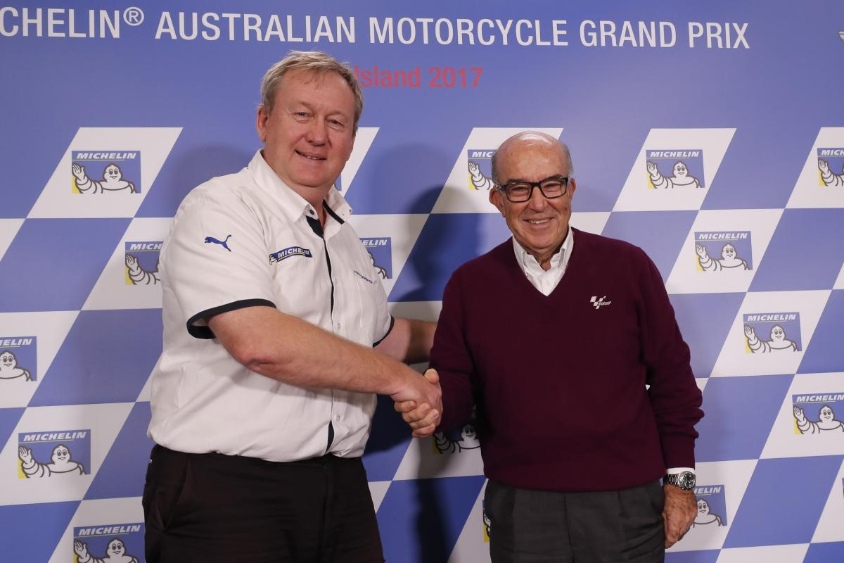 Michelin продлила контракт с MotoGP еще на 5 лет