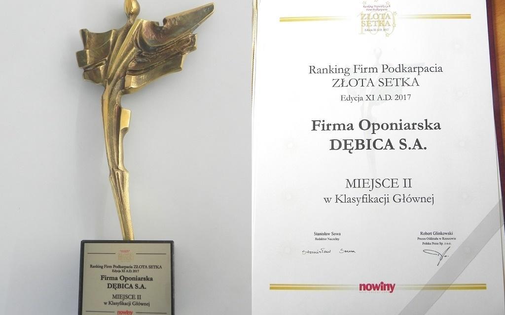 Debica снова в Топ-100 крупнейших компаний Подкарпатья