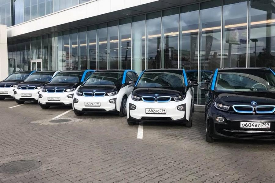 Каршеринг YouDrive обзаводится электромобилями
