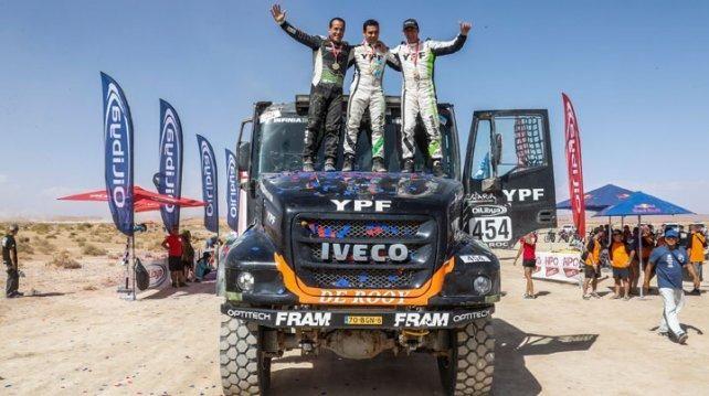 Грузовики команды De Rooy на шинах Goodyear выиграли Ралли Марокко 2017