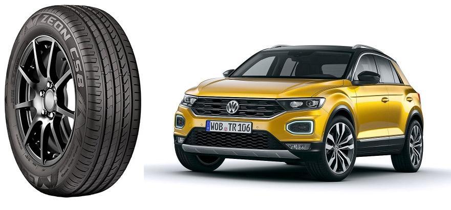 Volkswagen обует кроссовер T-Roc в американские шины Cooper