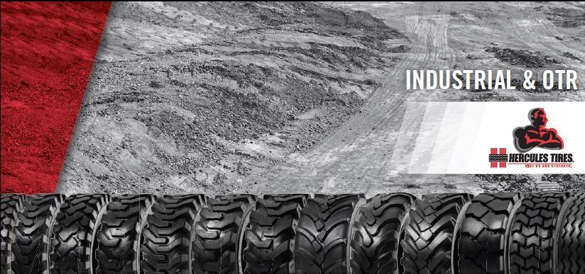 Hercules Tires освоила выпуск шин для погрузчиков