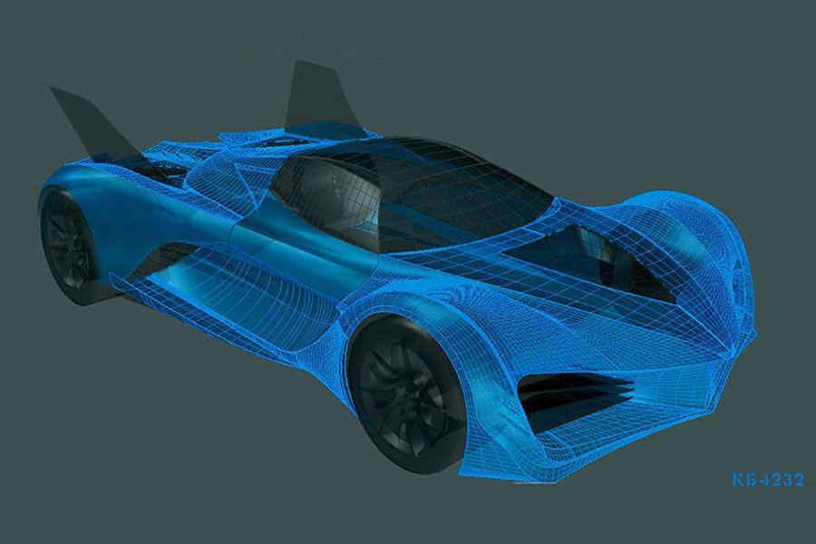 Представлен проект российского летающего автомобиля