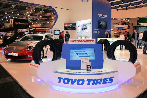 На юбилейную выставку в Эссен Toyo Tires привезет новые модели SUV-шин