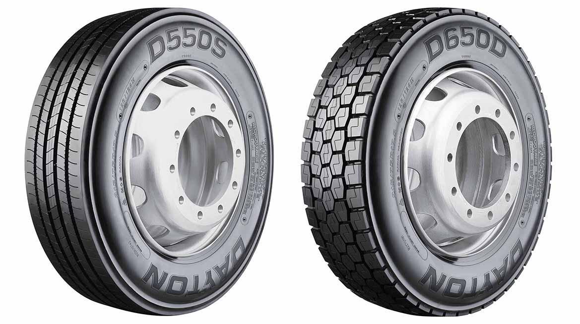 На рынок Европы выходят новые грузовые шины Dayton D550S и D650D