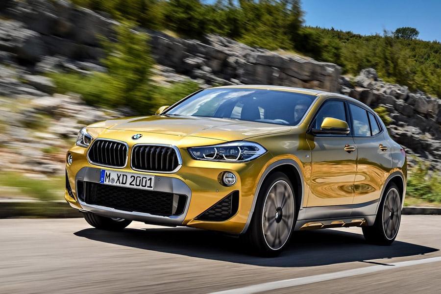 BMW X2: известны российские цены и дата старта продаж