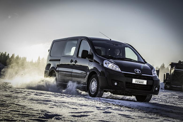 Nokian Tyres о нюансах выбора зимних шин для легких коммерческих грузовиков