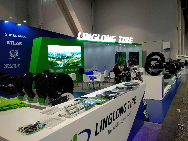 Linglong привезла в Лас-Вегас «зеленые» шины