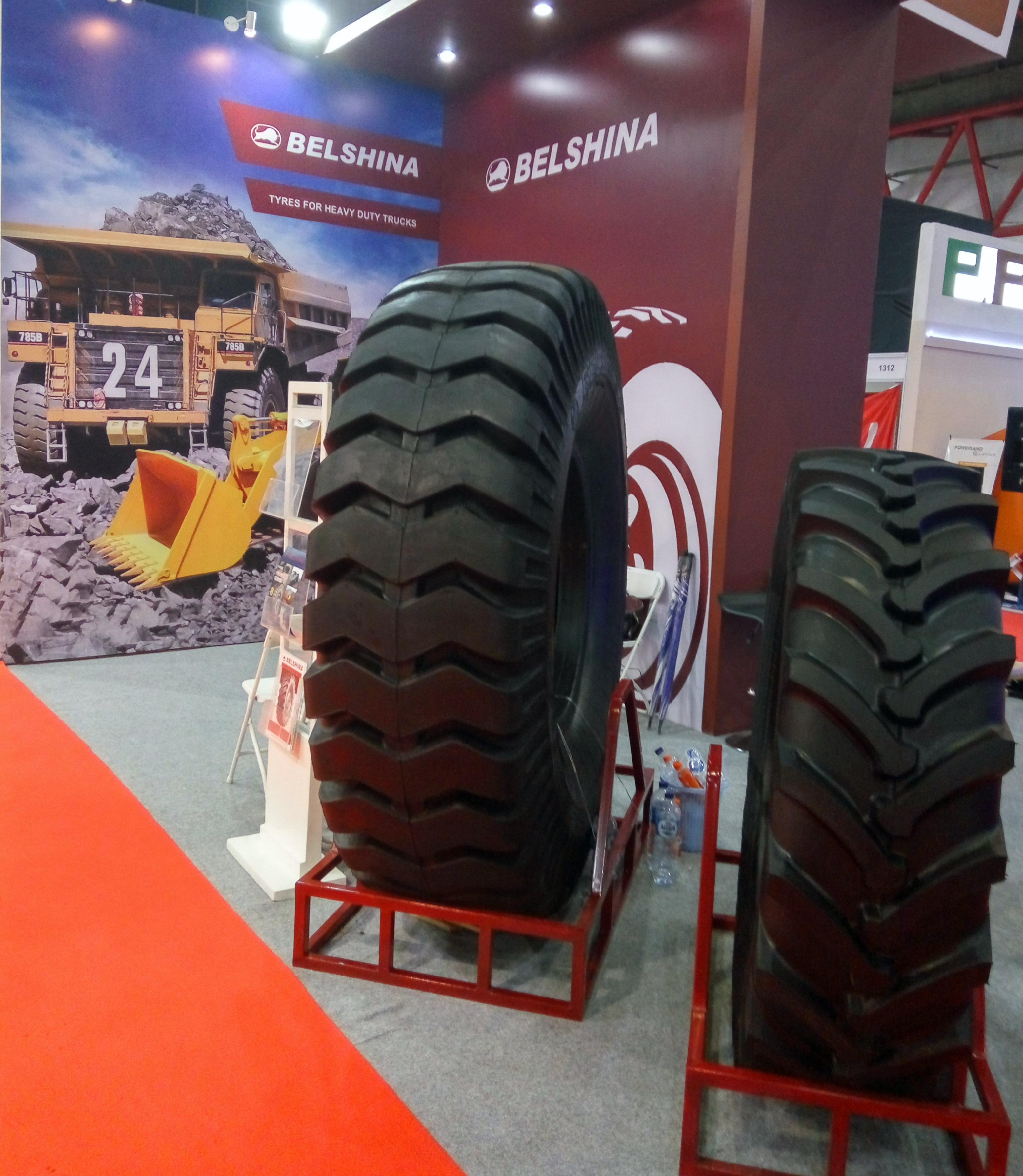 Белорусская шинная продукция выходит на рынок Индии