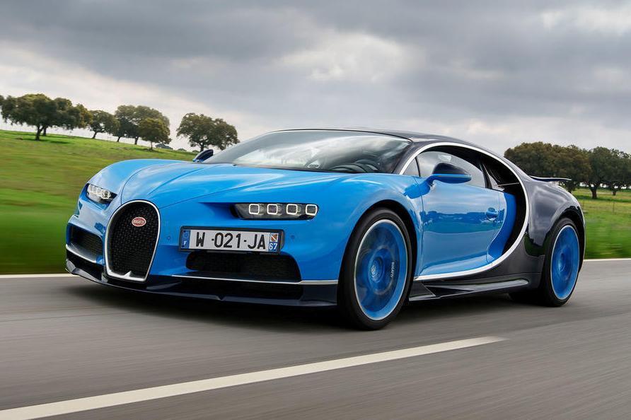 Подержанный Bugatti Chiron оценили в полтора раза дороже нового