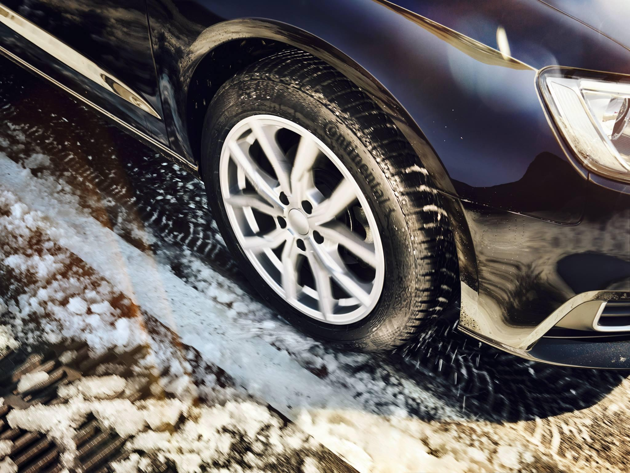 Continental предупреждает о необходимости проверки состояния шин перед сезонной сменой