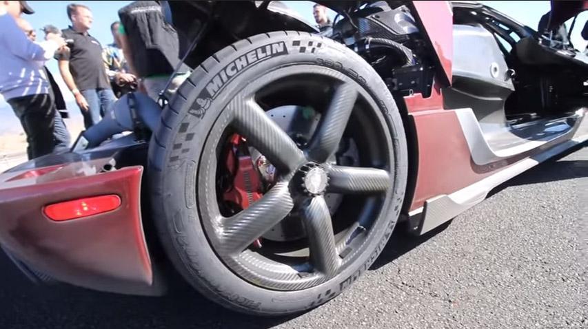 Гиперкар Koenigsegg Agera RS на шинах Michelin установил новый  мировой рекорд