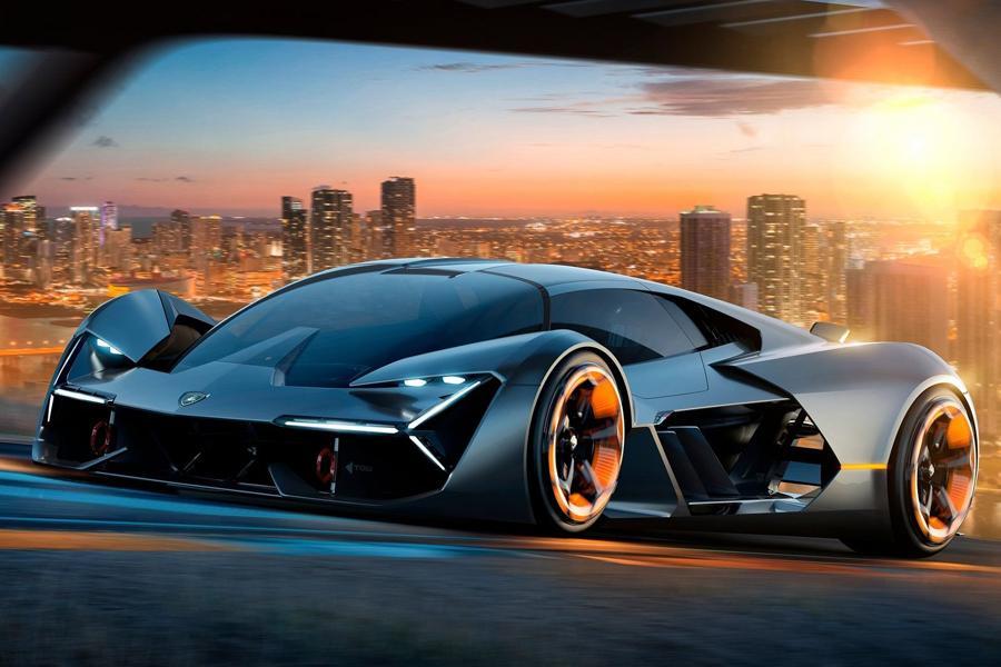 Lamborghini показала суперкар будущего
