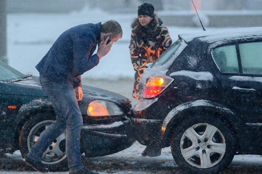 Аварии по европротоколу оформляют почти в трети случаев