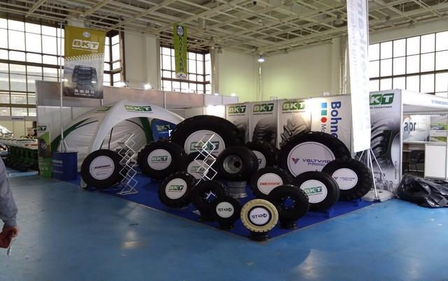 Bohnenkamp AG привезла на выставку в Астану сельскохозяйственные и грузовые шины