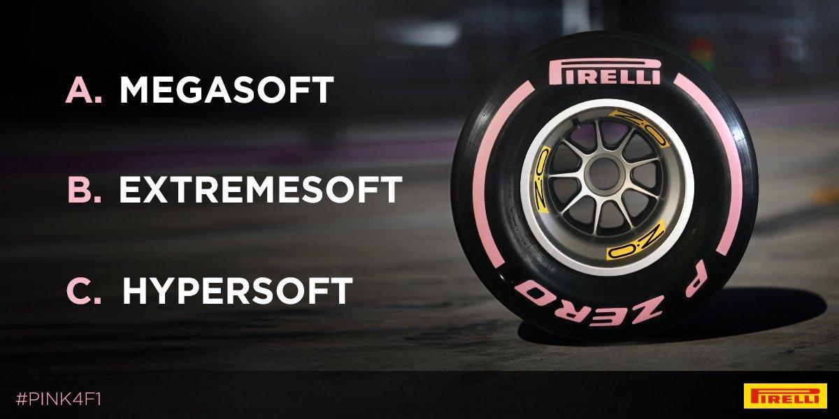 Пирелли выбирает название новых сликов для Формулы-1