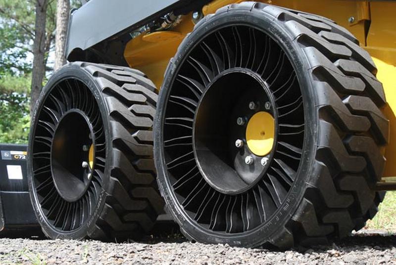 Мишлен выводит на российский рынок безвоздушные колеса линейки Michelin X Tweel