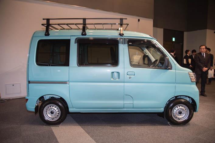 Новые Daihatsu Hijet Cargo обуют в топливосберегающие покрышки Bridgestone Ecopia