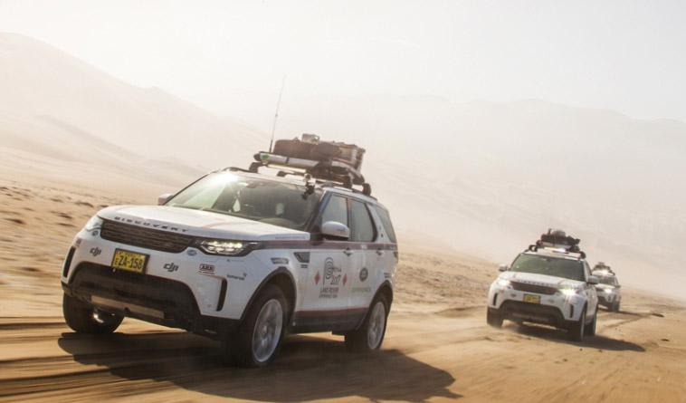 Шины Goodyear обеспечили успех экспедиции Land Rover Experience 2017