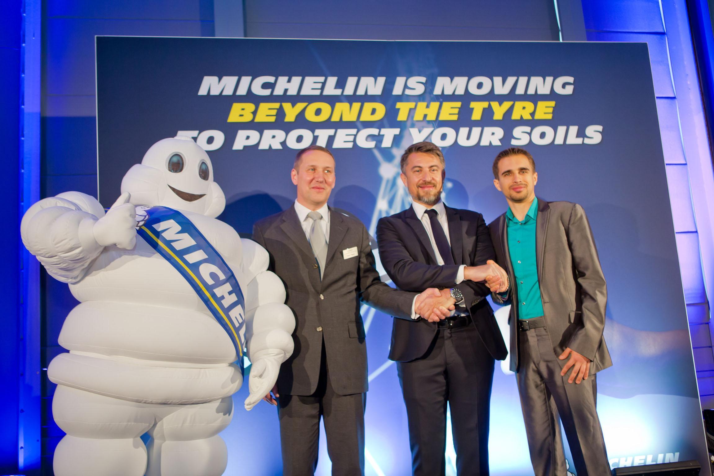 Мишлен покупает производителей систем контроля и регулировки давления в шинах