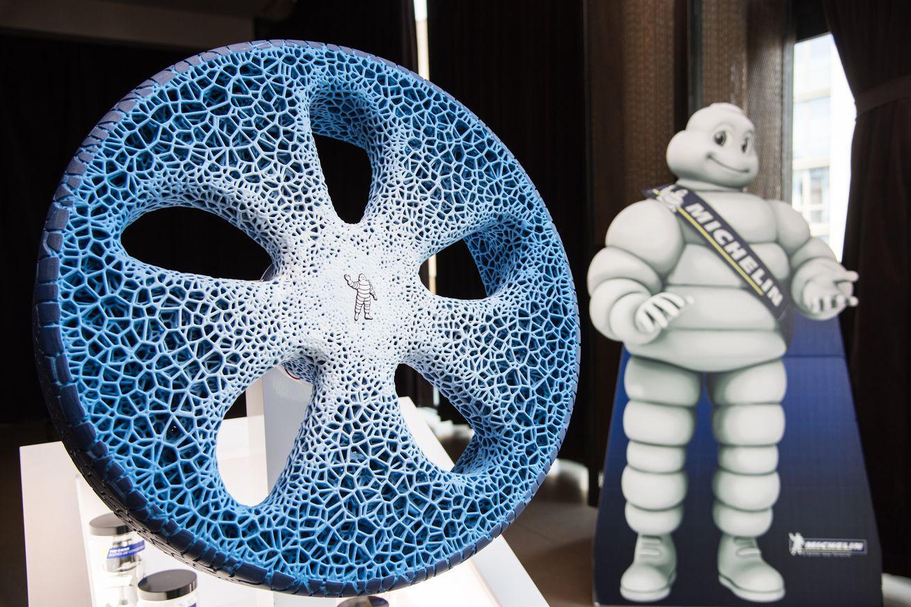 Концепт-шины Michelin Vision попали в Топ-25 лучших изобретений 2017 года