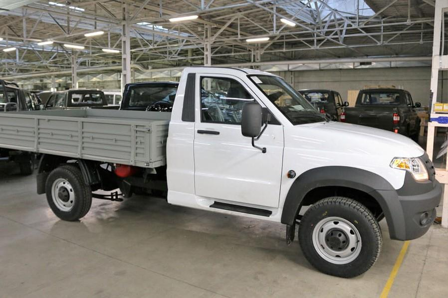УАЗ начал выпускать битопливную версию «Профи»