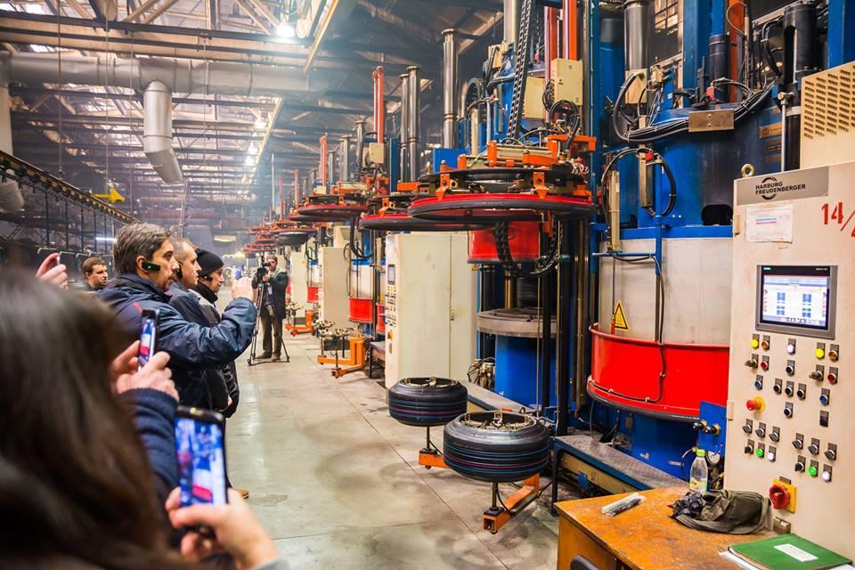 Дилеры «Росавы» оценили масштабы модернизации на Белоцерковском шинном комбинате