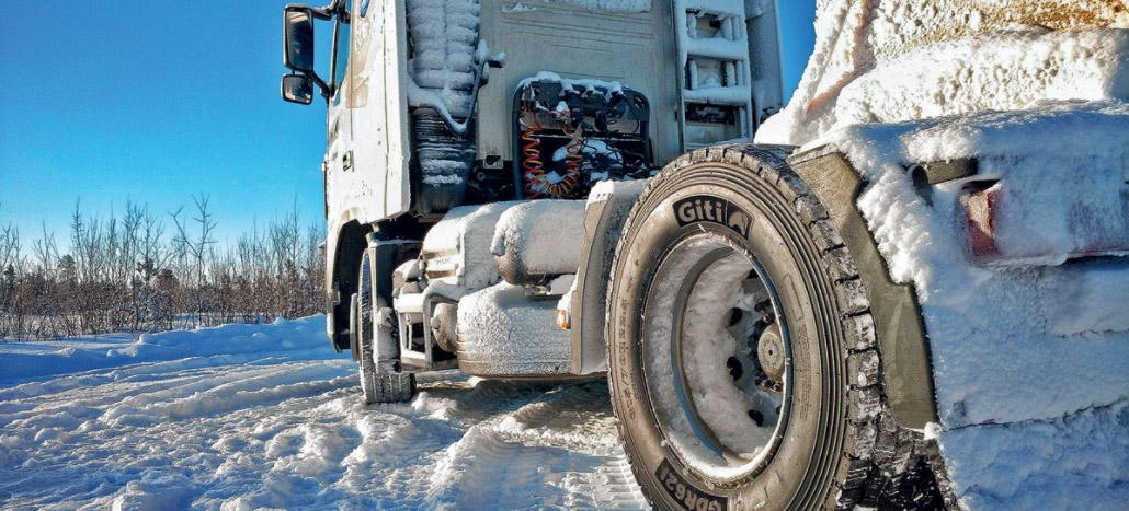 Giti Tire представляет в России линейку зимних шин для грузовых автомобилей