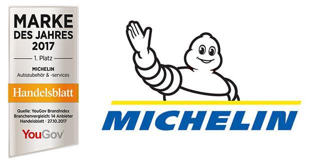 Michelin снова первый в рейтинге YouGov BrandIndex
