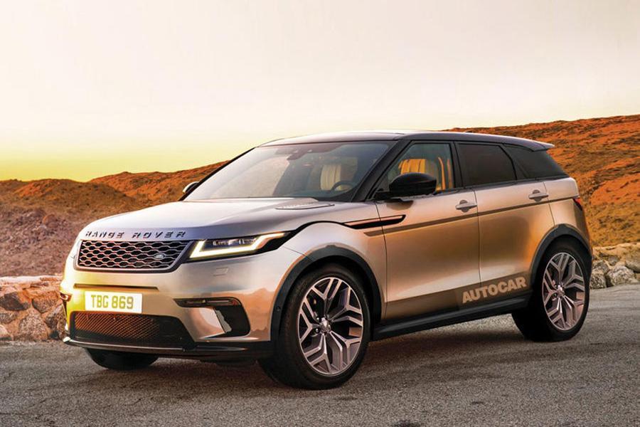 Новый Range Rover Evoque представят через год