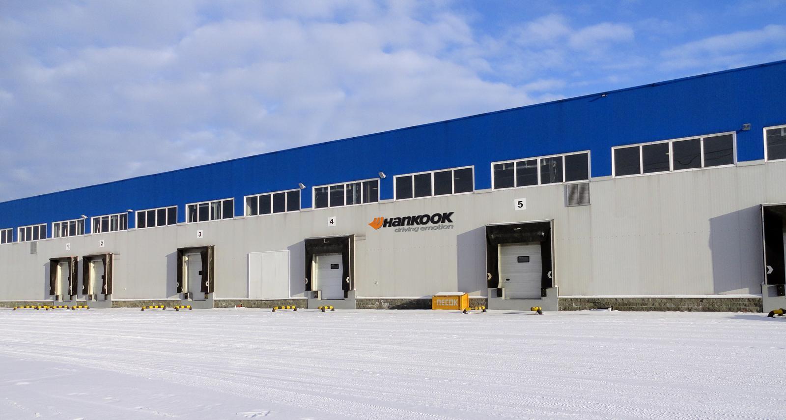 Hankook Tire развивает свою логистическую сеть в России