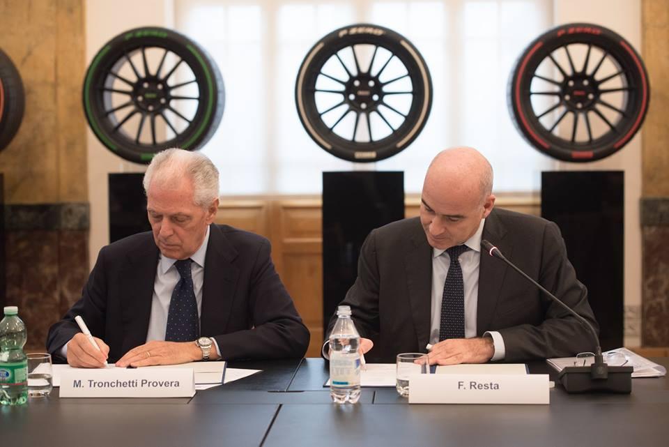 Pirelli и Politecnico di Milano продолжат работу в рамках проекта Joint Labs