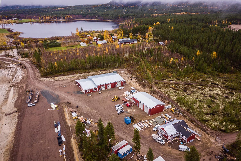 Arctic Falls строит для Пирелли новый центр тестирования зимних шин