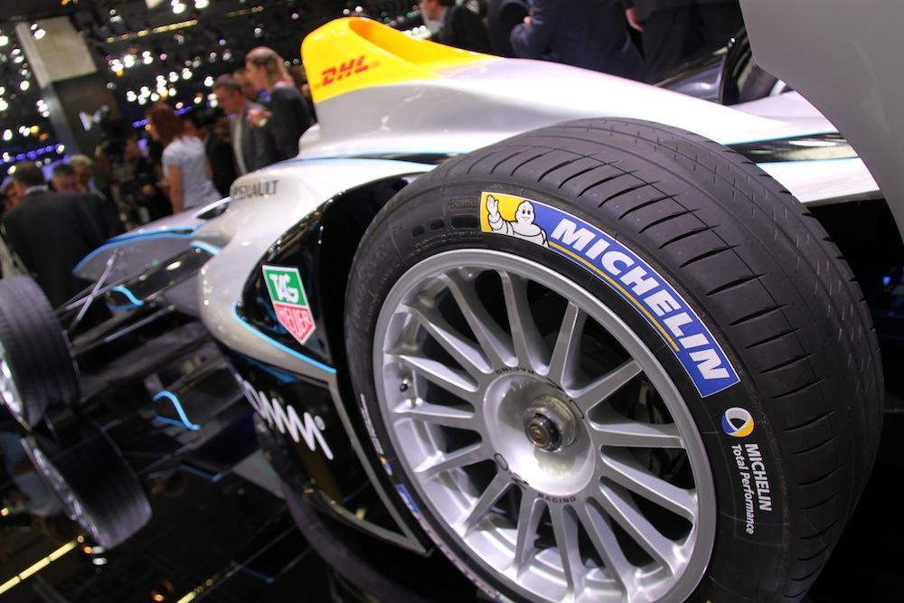Мишлен остается в Формуле-Е еще на два сезона