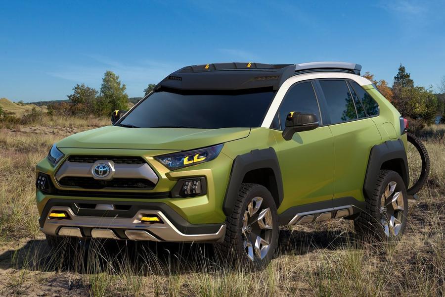 Toyota рассекретила прототип кроссовера будущего