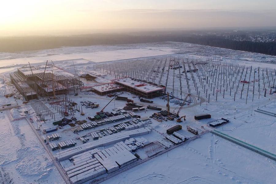 Строительство российского завода Mercedes идет по плану
